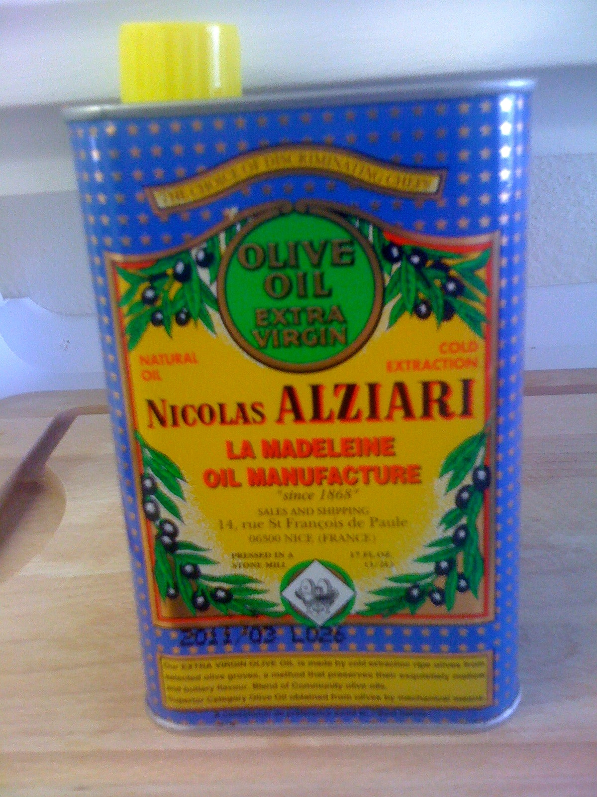 Nicolas Alziari Olive Oil - Best Olive Oil In The World