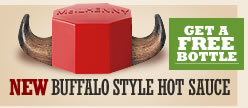 Tabasco Buffalo Style Hot Sauce Horns Get A Free Bottle