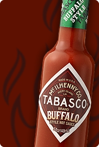 Tabasco Buffalo Style Hot Sauce Love in a Bottle
