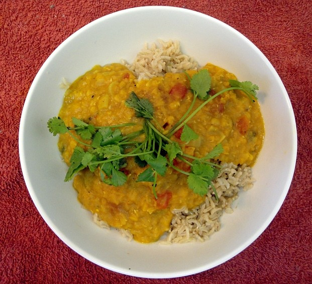 Masoor Dahl - Funky Vegan Style