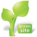 This Site Uses Green Hosting