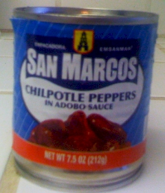 San Marcos Chipotle Peppers In Adobo Sauce Funky