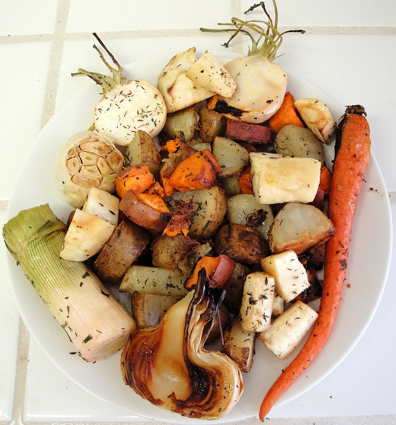 Roasted Vegetables Vegan
