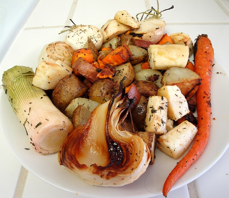 Vegetarian Roasted Vegetables