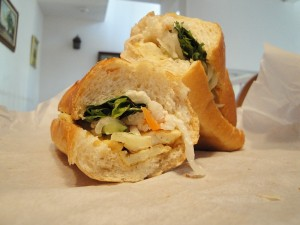Vegan Banh Mi Chay Sandwich