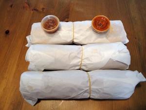 Vegan Banh Mi Chay Vietnamese Sandwich with Sriracha