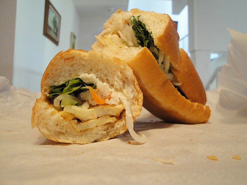 Vegan Banh Mi Chay Vietnamese Sandwich