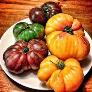 Heirloom Tomatoes at Specialty Produce